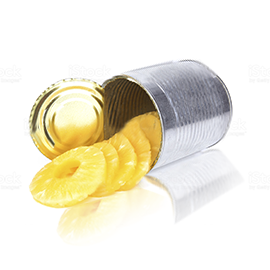 Pineapple Canned