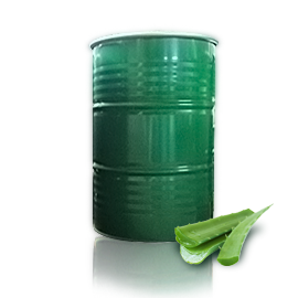 Aloe Vera Aseptic bag in steel drum